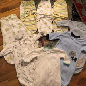 Newborn baby boy lot